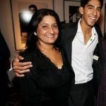 Dev Patel with his Mother Anita