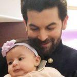 Neil Nitin Mukesh With His Daughter Nurvi