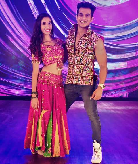 Aadil Khan on the sets of Dance Deewane