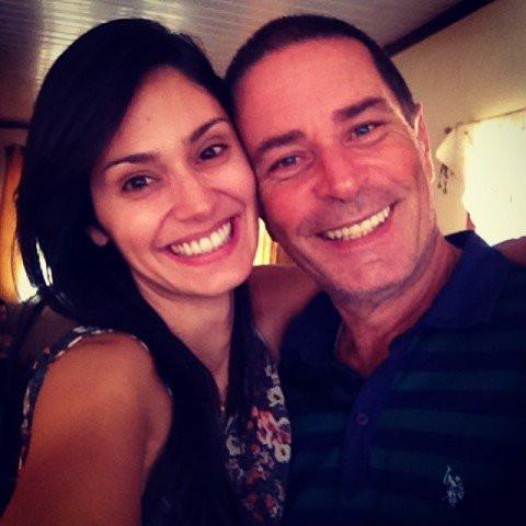 Bruna Abdullah and her father