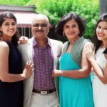 Aashita Sood with her parents and sister