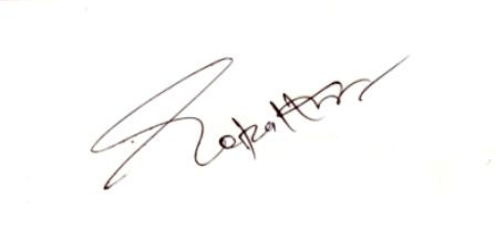 Gopal Kanda signature