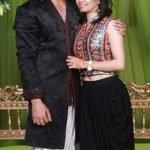 Kunal Bhatia with wife