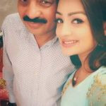 Samiksha Jaiswal with her father