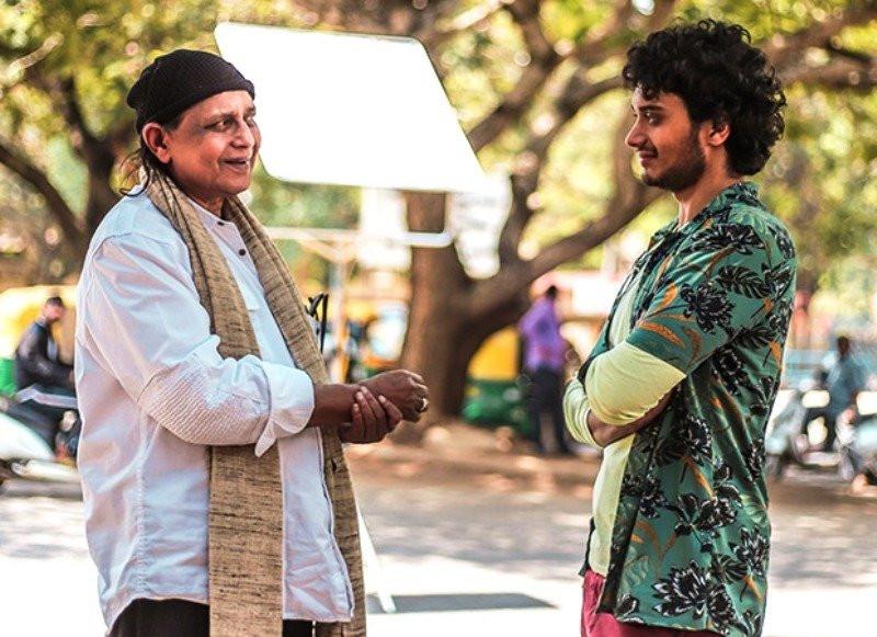 Namashi Chakraborty with his father Mithun Chakraborty