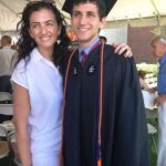 Jennifer Hyman With Her Brother