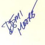 Demi Moore Signature
