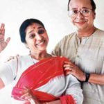R. D. Burman with his wife Asha Bhosle