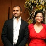Kalli Purie with her husband