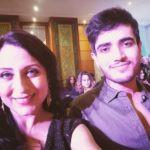 Kishori Shahane Vij with her son