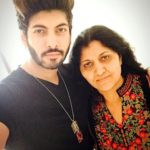 Abhimanyu Chaudhary with his mother Pushpa Chaudhary
