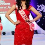 Gayathri Suresh walked the ramp during Miss Queen of India 2015 beauty pageant