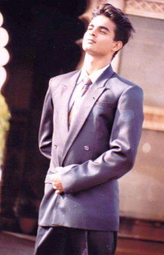 R. Madhavan in modelling days