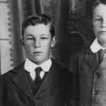 Don Bradman (right0 with his brother Victor