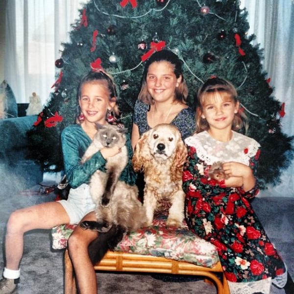 Alex Morgan And Her Two Sisters In Their Childhood