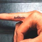 Hailey Baldwin Tattoo