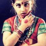 Raja Kumari as an Indian classical dancer