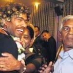 Lasith Malinga parents