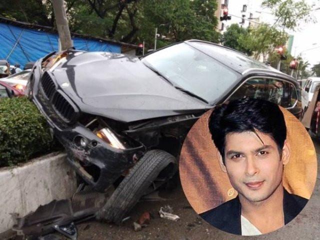 Siddharth Shukla's car accident