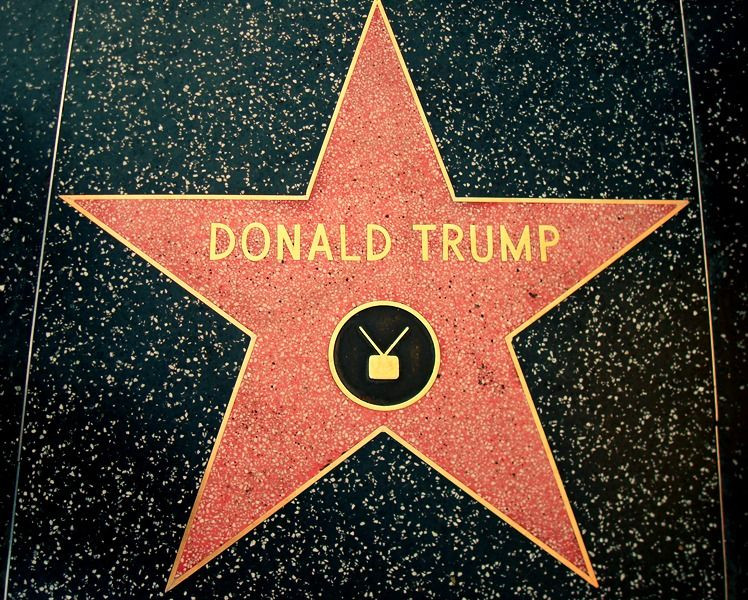 Donald Trump's Hollywood Walk of Fame Star