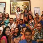Carolina Moura with her Family