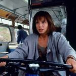 Sandra Bullock acting in Speed