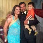 Rakesh Udiyar Sister and Brother-In-Law
