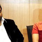 Sidharth Sagar with Bashir Qureshi during press conference