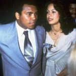 Muhammad Ali with his 3rd wife Veronica Porsche Ali