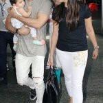 Mira Rajput with her husband Shahid Kapoor and daughter Misha Kapoor
