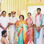 Vishagan Vanangamudi And Soundarya Rajinikanth Marriage Photo