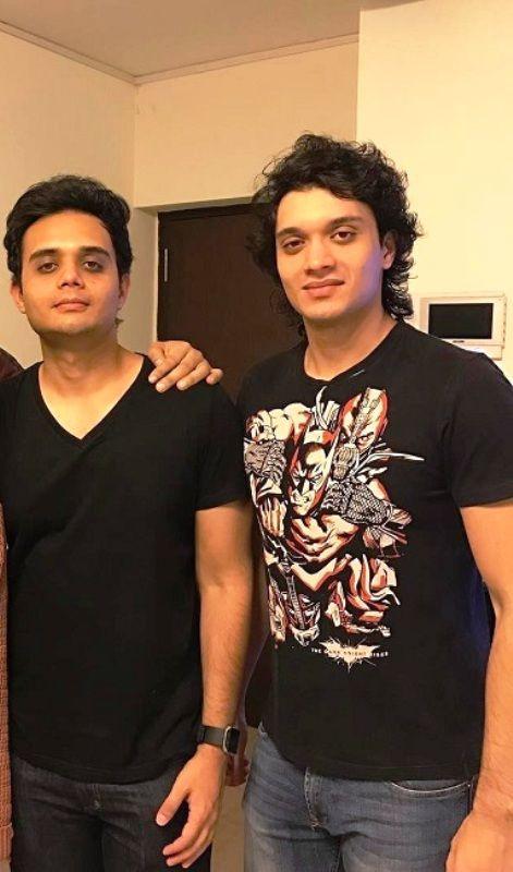 Namashi Chakraborty with his brother Ushmey Chakraborty