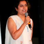 Suhasini Maniratnam As A Hostess