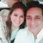 Rajeev Paul with Anjali Raina