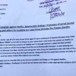 A Copy of the Complaint Against Nawazuddin Siddiqui and the Producers of the Netflix web series Sacred Games