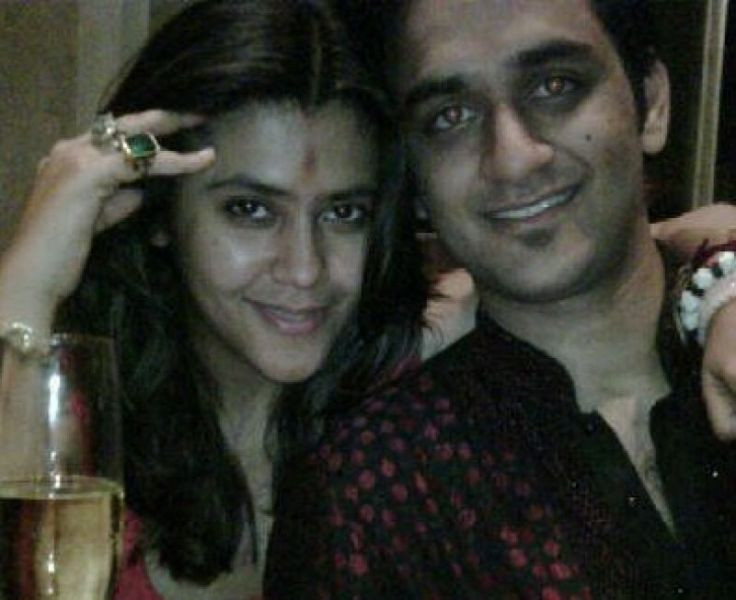 Ekta Kapoor with Vikas Gupta