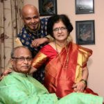 Parag Kanhere With His Parents