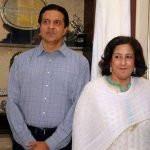 Arjan Singh Son Arvind Singh and Daughter Asha Singh