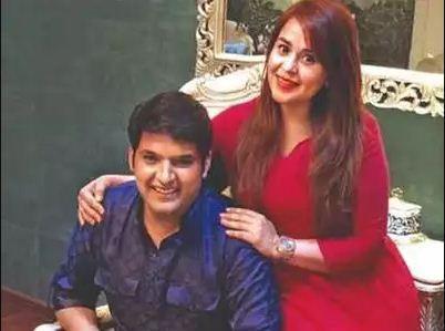 Kapil Sharma with Ginni Chathrath