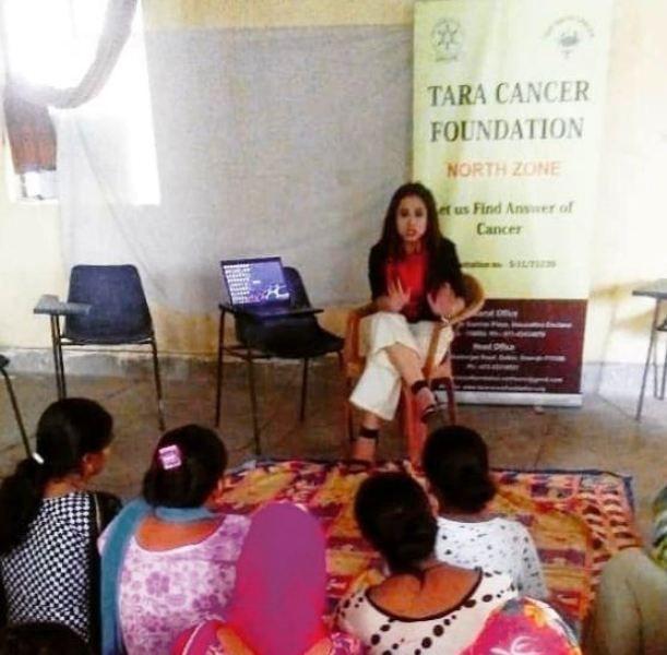 Sweta Tripathi at an Event of NGO