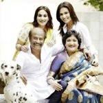 Soundarya Rajinikanth with her family