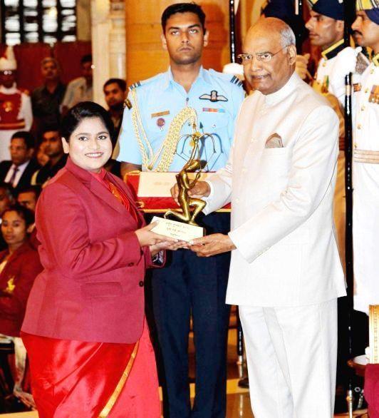 Rahi Sarnobat - Arjuna Award