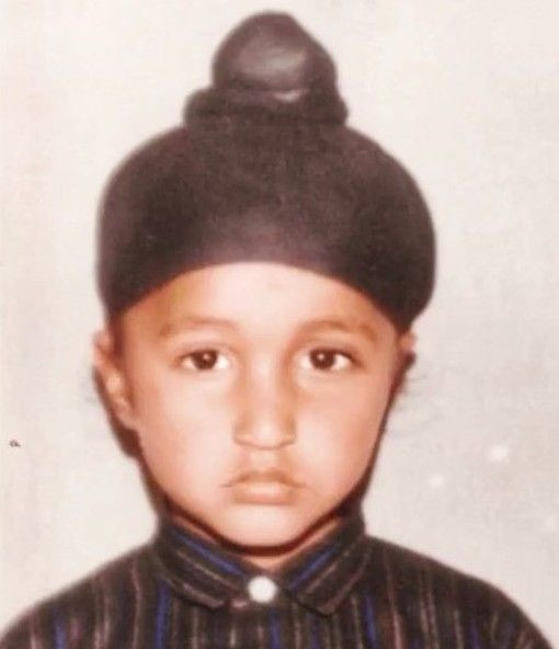 Jassie Gill's childhood picture