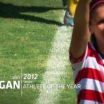 Alex Morgan U.S. Soccer Athlete of the Year 2012