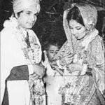 Asrani with wife Manju Asrani