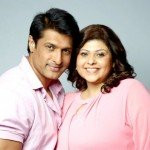 Ria Banerjee with her husband