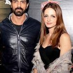 Sussanne Khan with Arjun Rampal