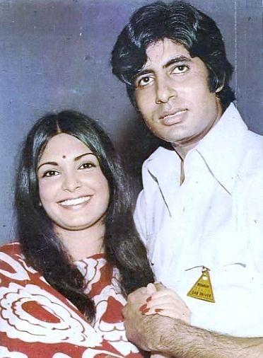 Amitabh Bachchan and Parveen Babi