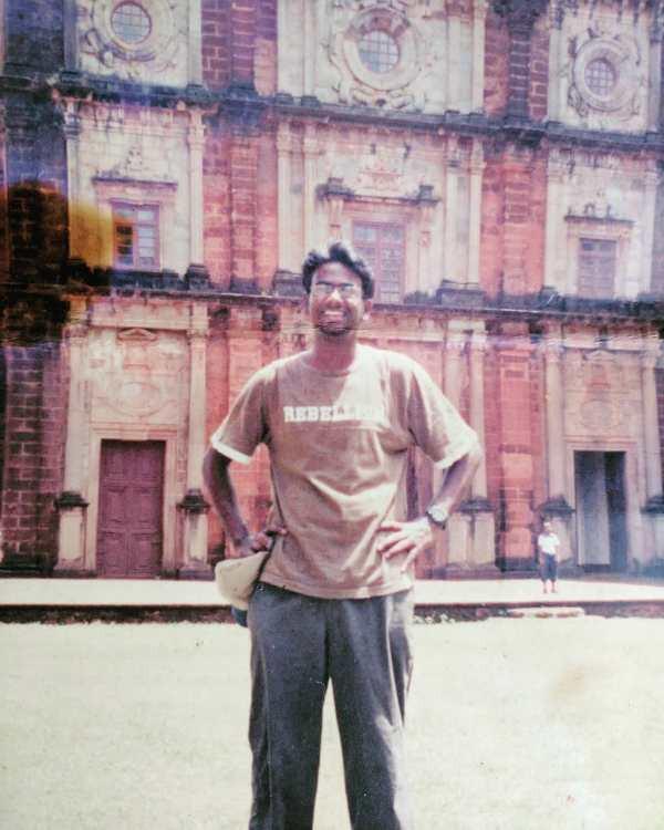 An Old Photo of Ashish Shakya
