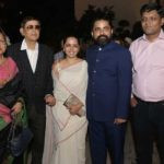 Sabyasachi Mukherjee with his parents, sister and brother-in-law